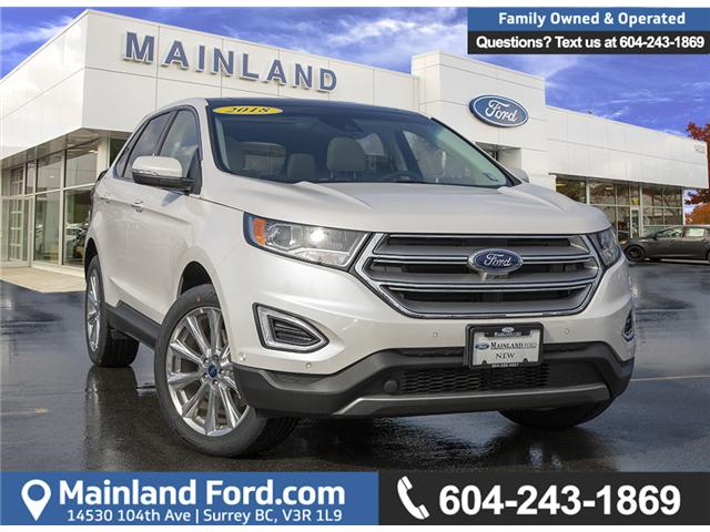 2018 Ford Edge Titanium (Stk: 8ED6358) in Vancouver - Image 1 of 28