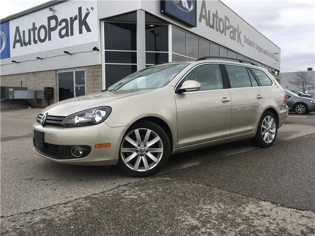 2013 Volkswagen Golf 2.0 TDI Highline (Stk: 13-51210JB) in Barrie - Image 1 of 27