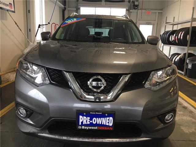 2016 Nissan Rogue SL Premium (Stk: P0658) in Owen Sound - Image 2 of 12
