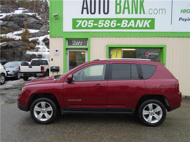 2017 Jeep Compass Sport/North (Stk: ) in Sudbury - Image 1 of 6
