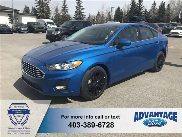 2019 Ford Fusion SE (Stk: K-437) in Calgary - Image 1 of 5