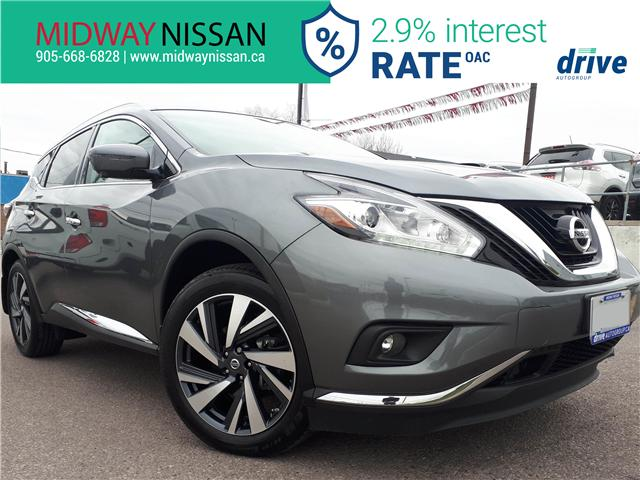 2018 Nissan Murano Platinum (Stk: U1655) in Whitby - Image 1 of 33