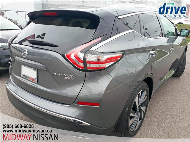 2018 Nissan Murano Platinum (Stk: U1655) in Whitby - Image 10 of 33
