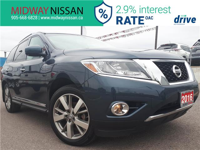 2016 Nissan Pathfinder Platinum (Stk: U1671) in Whitby - Image 1 of 37