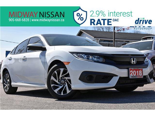 2018 Honda Civic EX (Stk: U1622) in Whitby - Image 1 of 32