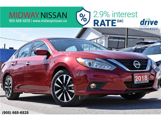 2018 Nissan Altima 2.5 SV (Stk: U1594) in Whitby - Image 1 of 33