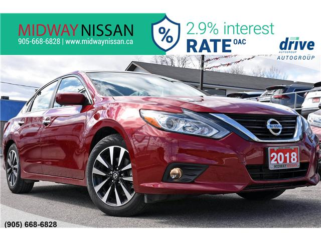 2018 Nissan Altima 2.5 SV (Stk: U1592) in Whitby - Image 1 of 32