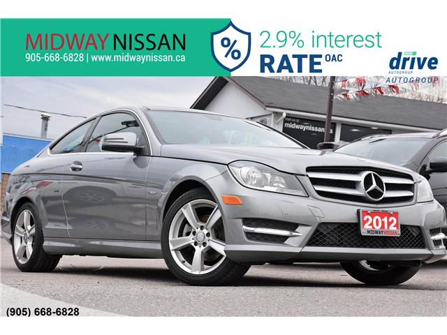 2012 Mercedes-Benz C-Class Base (Stk: U1567A) in Whitby - Image 1 of 33