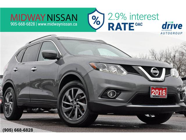 2016 Nissan Rogue SL Premium (Stk: U1637) in Whitby - Image 1 of 32