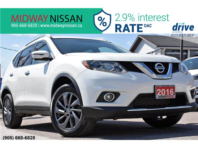 2016 Nissan Rogue SL Premium (Stk: U1649) in Whitby - Image 1 of 35