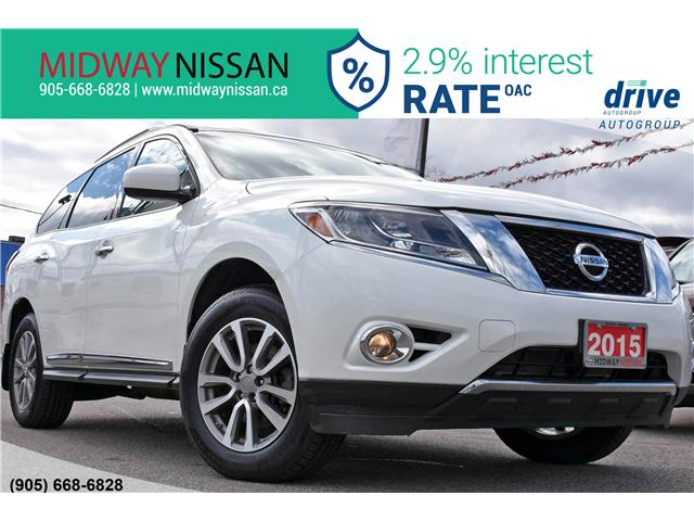2015 Nissan Pathfinder SL (Stk: KC579575A) in Whitby - Image 1 of 35