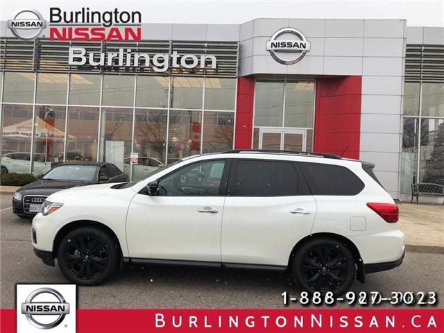2018 Nissan Pathfinder Midnight Edition (Stk: X4332) in Burlington - Image 1 of 20