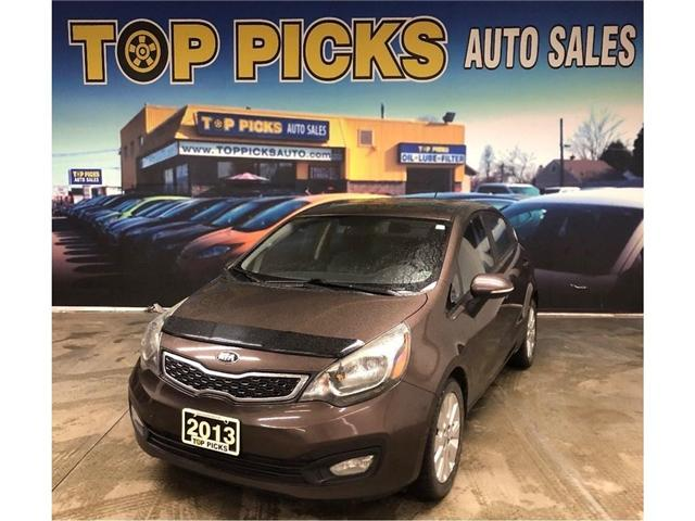 2013 Kia Rio  (Stk: 157728) in NORTH BAY - Image 1 of 26