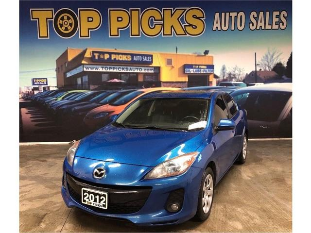 2012 Mazda Mazda3 GS-SKY (Stk: 640293) in NORTH BAY - Image 1 of 25
