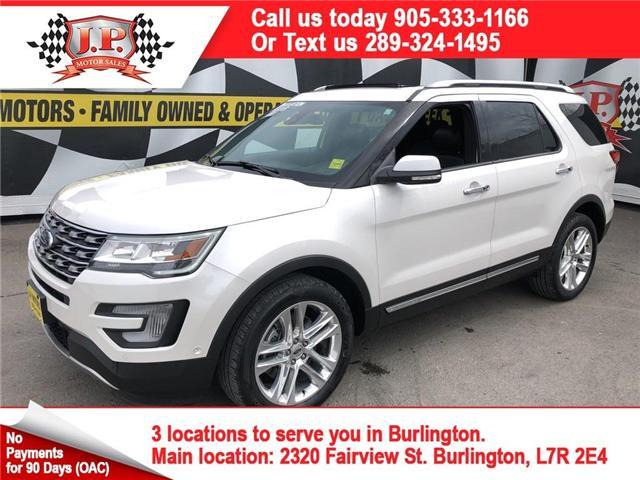 2017 Ford Explorer Limited (Stk: 46632) in Burlington - Image 1 of 27