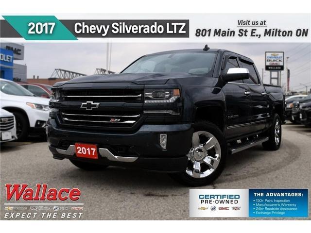 2017 Chevrolet Silverado 1500 LTZ w/2LZ/Z71/20 WHLS/6 STPS/NAV/TRLR PKG (Stk: 522191A) in Milton - Image 1 of 23