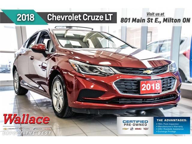 2018 Chevrolet Cruze LT/SUNRF/HEATD STS/PRK ASST/BLIND ZNE ALRT (Stk: PR5066) in Milton - Image 1 of 7