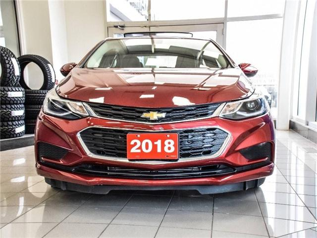 2018 Chevrolet Cruze LT/SUNRF/HEATD STS/PRK ASST/BLIND ZNE ALRT (Stk: PR5066) in Milton - Image 2 of 7