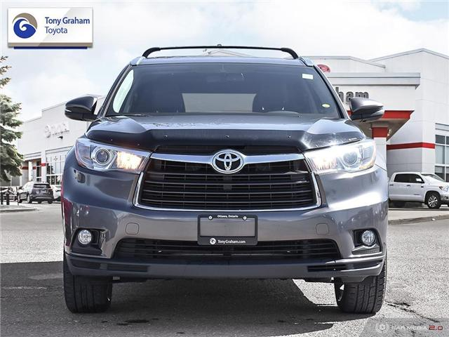 2016 Toyota Highlander Limited (Stk: U9073) in Ottawa - Image 2 of 30