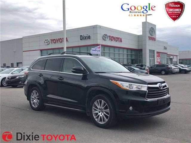2016 Toyota Highlander XLE (Stk: D191146A) in Mississauga - Image 1 of 15