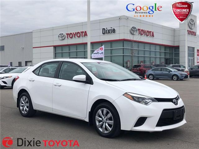 2014 Toyota Corolla LE (Stk: 72266) in Mississauga - Image 1 of 19