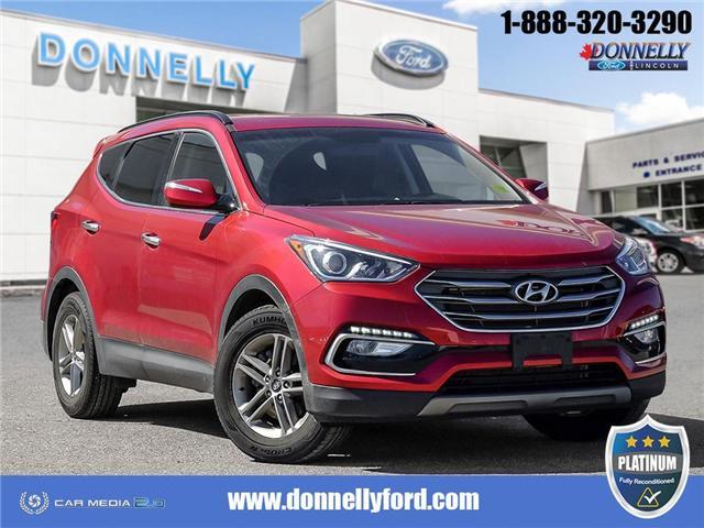 2018 Hyundai Santa Fe Sport  (Stk: PLDUR6097) in Ottawa - Image 1 of 28