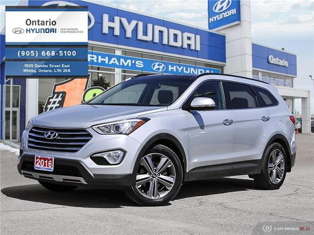 2016 Hyundai Santa Fe XL Limited w/6 Passenger (Stk: 57191K) in Whitby - Image 1 of 27