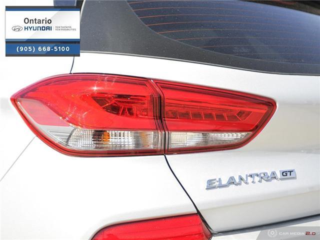 2018 Hyundai Elantra GT Sport (Stk: 44049K) in Whitby - Image 12 of 27