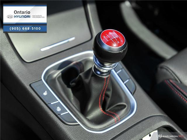 2018 Hyundai Elantra GT Sport (Stk: 44049K) in Whitby - Image 19 of 27