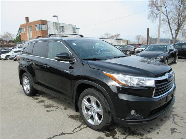 2015 Toyota Highlander Hybrid Limited (Stk: 16097A) in Toronto - Image 1 of 16