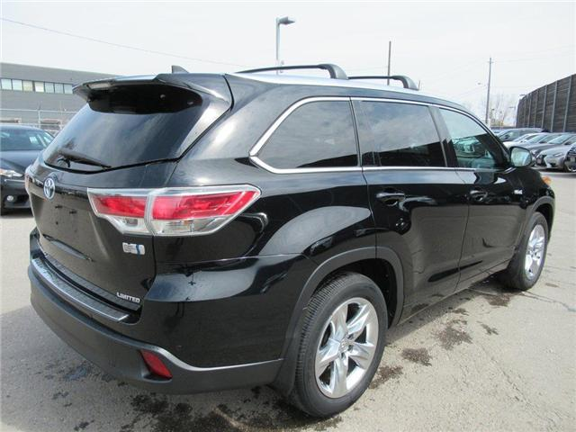 2015 Toyota Highlander Hybrid Limited (Stk: 16097A) in Toronto - Image 2 of 16