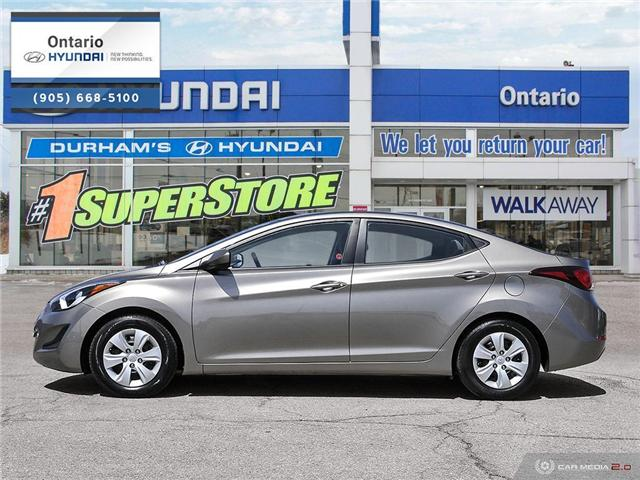2016 Hyundai Elantra L (Stk: 48132K) in Whitby - Image 3 of 27