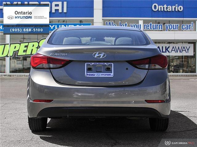 2016 Hyundai Elantra L (Stk: 48132K) in Whitby - Image 5 of 27