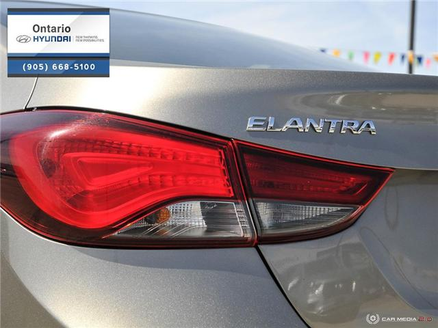 2016 Hyundai Elantra L (Stk: 48132K) in Whitby - Image 12 of 27