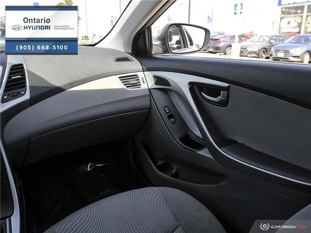 2016 Hyundai Elantra L (Stk: 48132K) in Whitby - Image 25 of 27