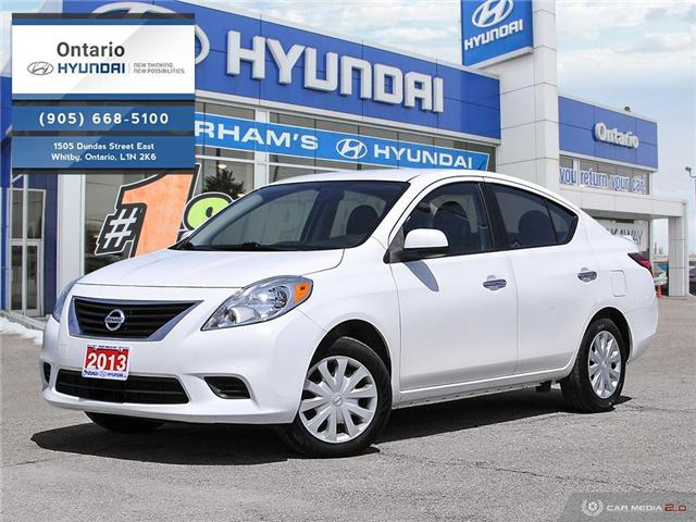 2013 Nissan Versa 1.6 SV (Stk: 22135L) in Whitby - Image 1 of 27