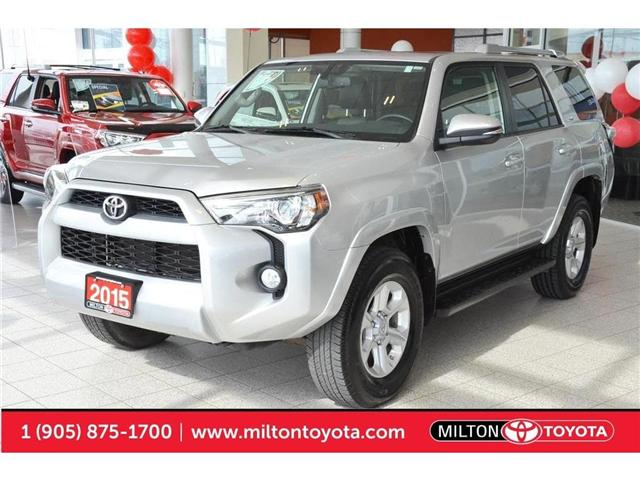 2015 Toyota 4Runner SR5 V6 (Stk: 217922) in Milton - Image 1 of 40