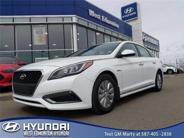2017 Hyundai Sonata Hybrid Base (Stk: P0940) in Edmonton - Image 1 of 20