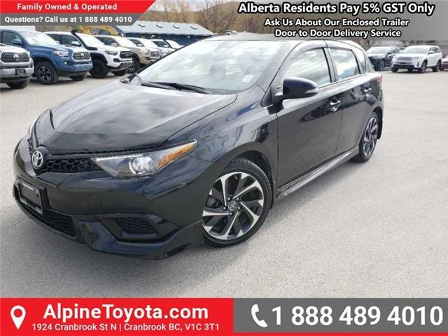 2017 Toyota Corolla iM Base (Stk: J538961M) in Cranbrook - Image 1 of 17