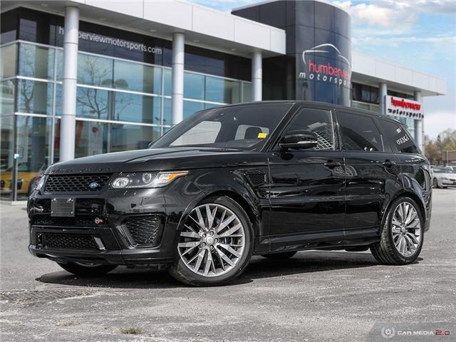 2016 Land Rover Range Rover Sport V8 Supercharged (Stk: 19MSC220) in Mississauga - Image 1 of 27