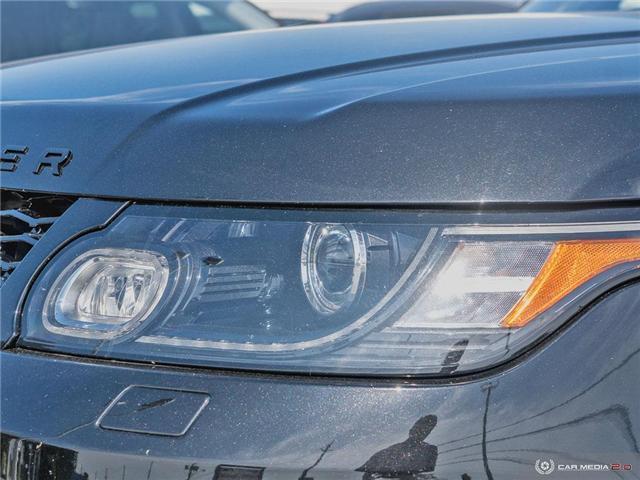 2016 Land Rover Range Rover Sport V8 Supercharged (Stk: 19MSC220) in Mississauga - Image 10 of 27