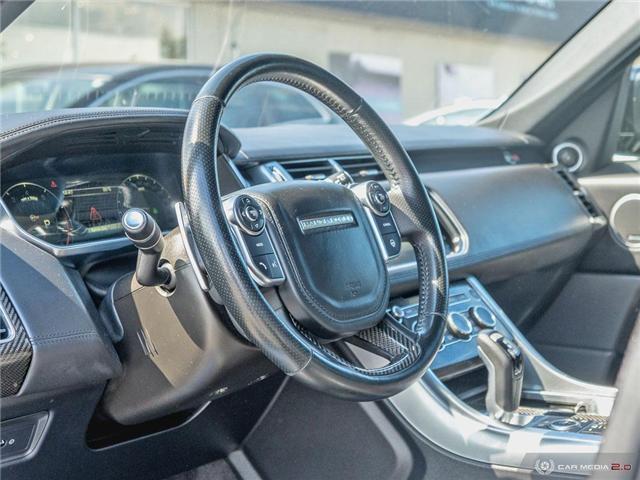2016 Land Rover Range Rover Sport V8 Supercharged (Stk: 19MSC220) in Mississauga - Image 13 of 27