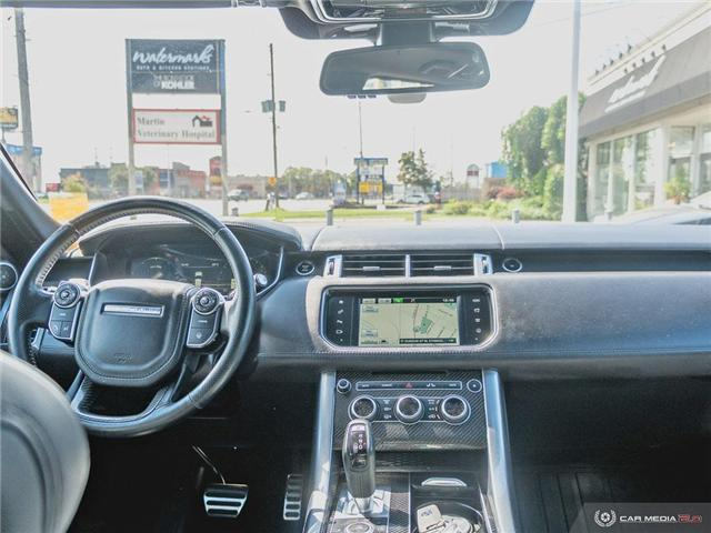 2016 Land Rover Range Rover Sport V8 Supercharged (Stk: 19MSC220) in Mississauga - Image 22 of 27