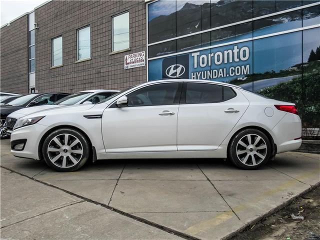 2013 Kia Optima EX Luxury (Stk: U06465) in Toronto - Image 2 of 13