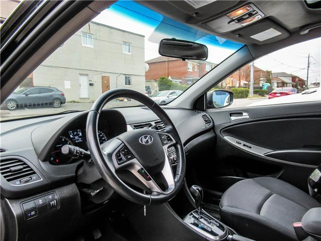 2016 Hyundai Accent SE (Stk: U06466) in Toronto - Image 3 of 14