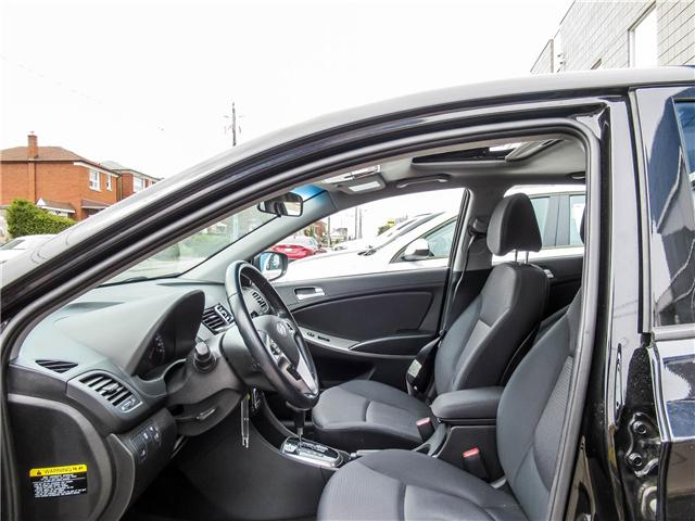 2016 Hyundai Accent SE (Stk: U06466) in Toronto - Image 4 of 14