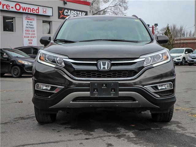 2015 Honda CR-V Touring (Stk: H7580-0) in Ottawa - Image 2 of 28
