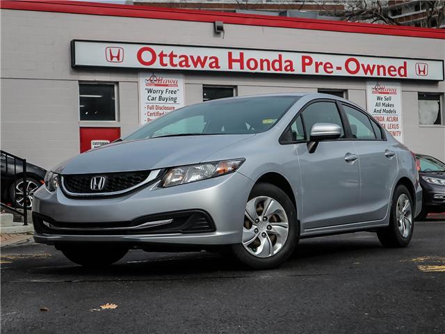 2015 Honda Civic LX (Stk: H7563-0) in Ottawa - Image 1 of 25
