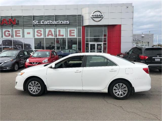 2013 Toyota Camry LE (Stk: SSP220) in St. Catharines - Image 1 of 5