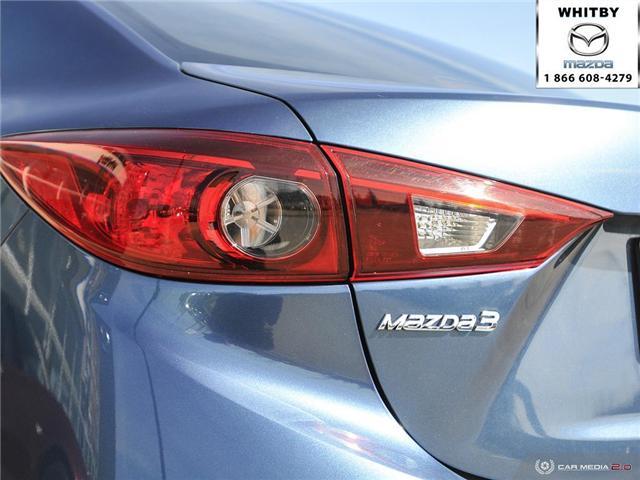 2018 Mazda Mazda3 GS (Stk: 180186) in Whitby - Image 12 of 27